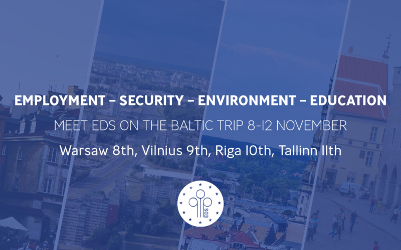 Meet EDS on the Baltic Trip
