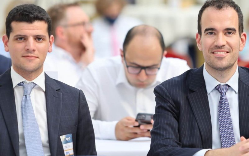 Chairman Galea and Secretary General Botoucharov represented EDS at the EPP Assembly